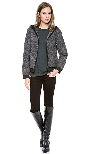 T by Alexander Wang French Terry Zip Hoodie