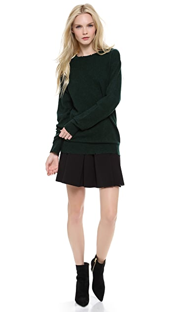 T by Alexander Wang Distressed Knit Pullover