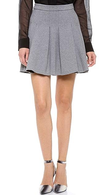 T by Alexander Wang Jersey Bonded Neoprene Skirt