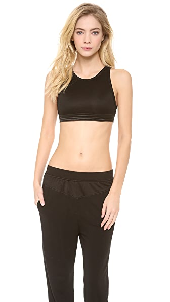 T by Alexander Wang Triblend Jersey Sports Bra