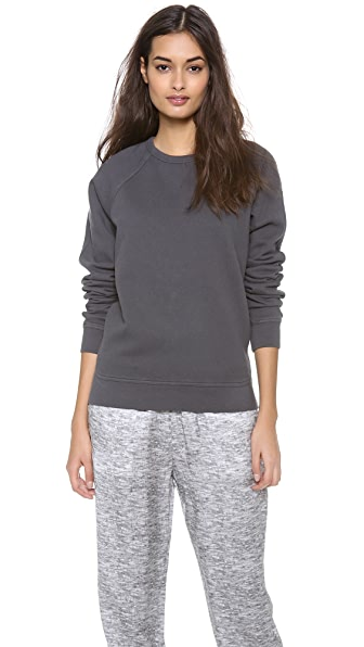 T by Alexander Wang Vintage Fleece Sweatshirt