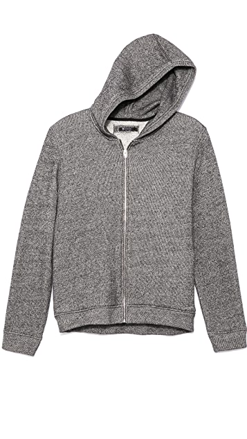 T by Alexander Wang Speckled French Terry Hoodie