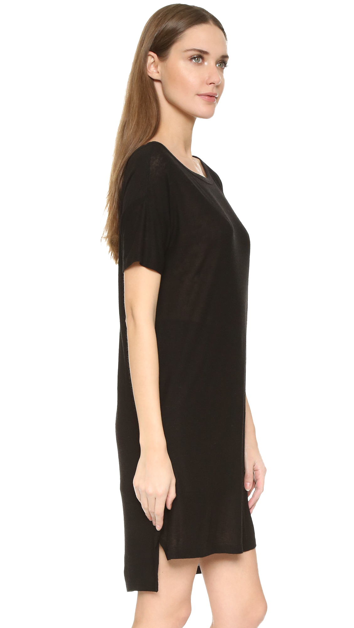 Alexanderwangt Classic Slub Boat Neck Dress Shopbop
