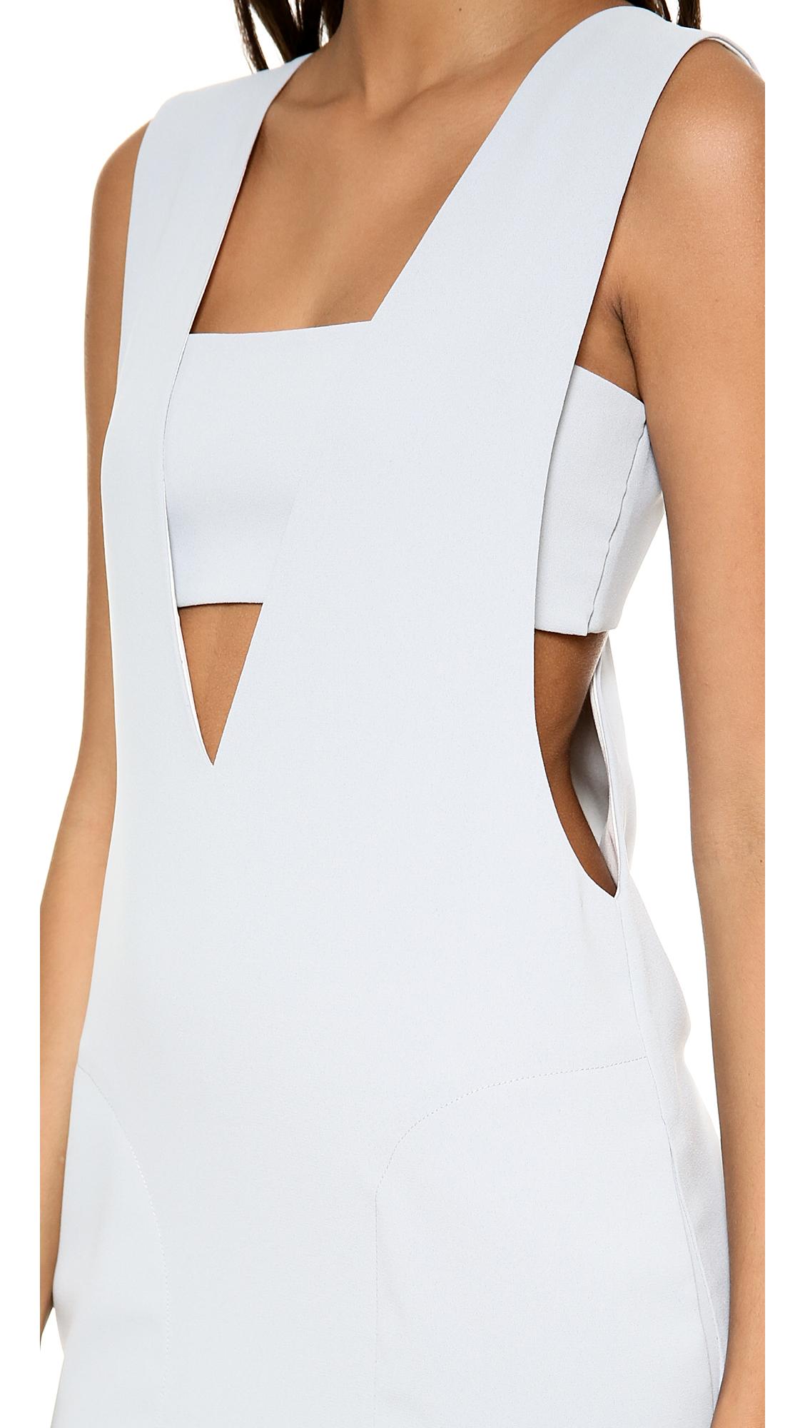 alexanderwang.t Low V Dress with Bandeau  b109d54ec