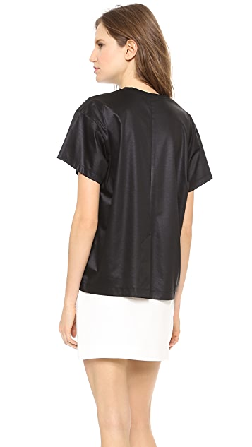 T by Alexander Wang Boxy Short Sleeve Tee