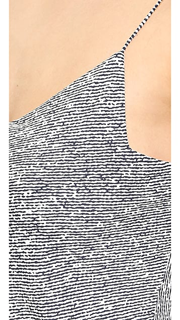 T by Alexander Wang Stretch Silk Georgette Slip Dress