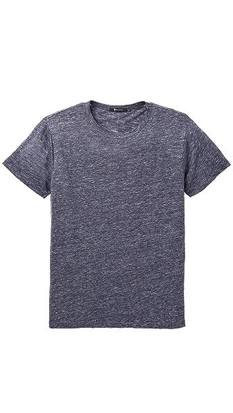 T by Alexander Wang Heathered Linen T-Shirt