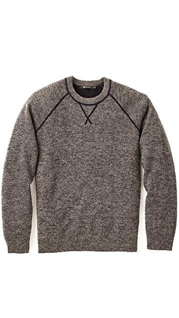 T by Alexander Wang Heathered Sweater