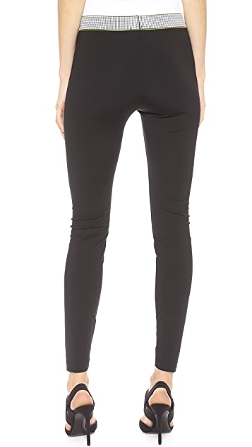 T by Alexander Wang High Density Luxe Ponte Leggings