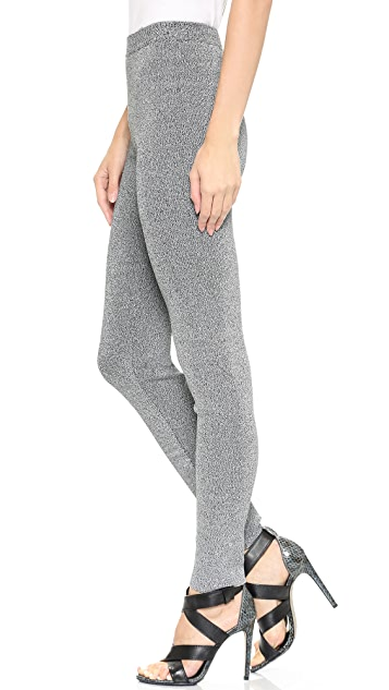 T by Alexander Wang Double Knit Leggings