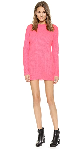 T by Alexander Wang Mohair Tunic Dress
