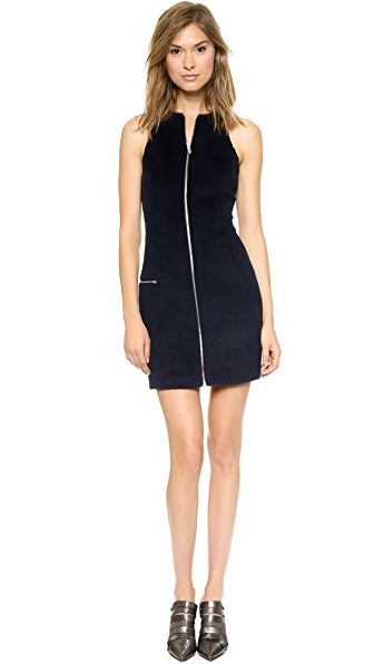 T by Alexander Wang Felt Dress