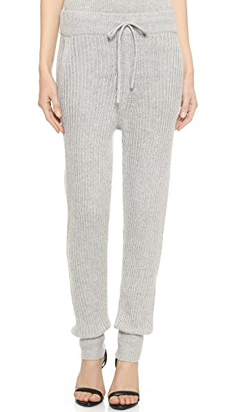 T by Alexander Wang Cash Wool Knit Pants