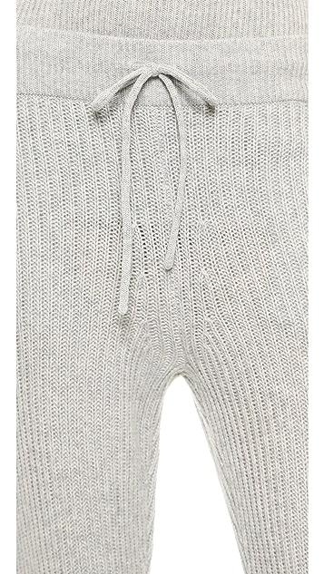 T by Alexander Wang Cash Wool Knit Pants