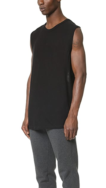 T by Alexander Wang Slub Muscle T-Shirt