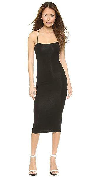 Kupi T by Alexander Wang online i prodaja T By Alexander Wang Strappy Tank Dress Black haljinu online