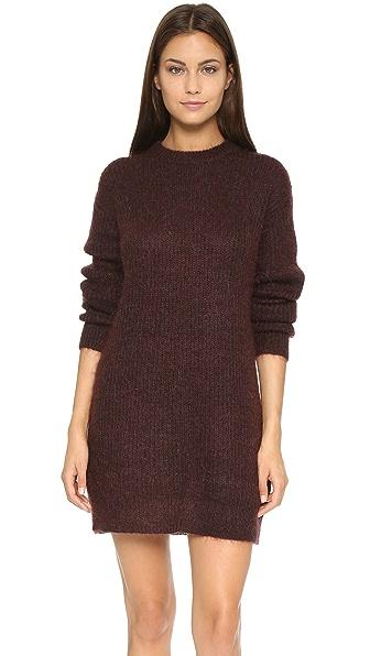 T by Alexander Wang Mohair Knit Tunic Dress
