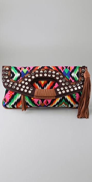 Twelfth St. by Cynthia Vincent Outlaw Clutch