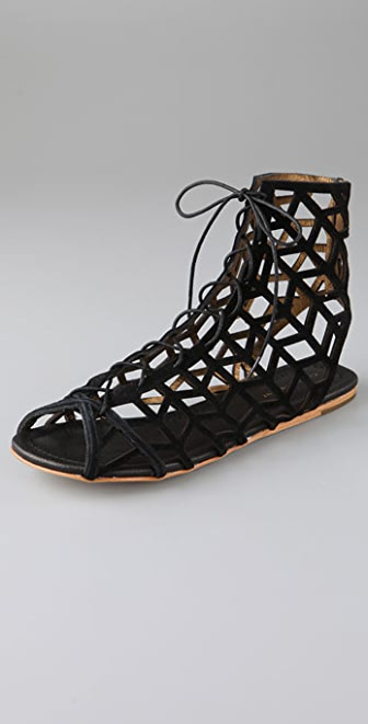 Twelfth St. by Cynthia Vincent Toni Suede Cutout Booties