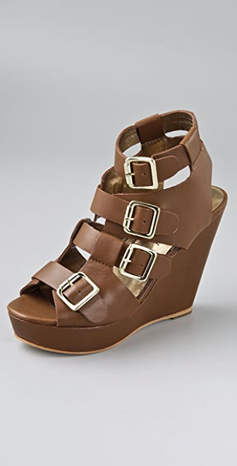 Twelfth St. by Cynthia Vincent Mason Wedge Sandals