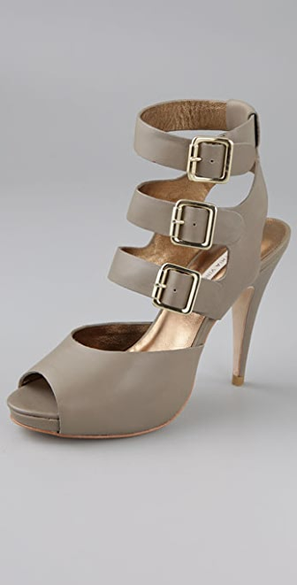 Twelfth St. by Cynthia Vincent Adele Triple Buckle Sandals