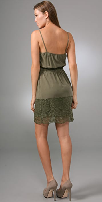 Twelfth St. by Cynthia Vincent Lace Hem Slip Dress