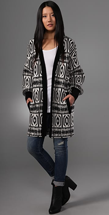 Twelfth St. by Cynthia Vincent '50s Sweater Coat