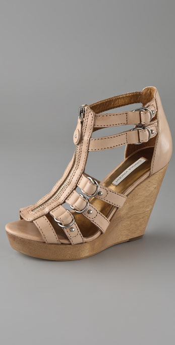 8ebe65b7c7 Twelfth St. by Cynthia Vincent Jagger Zip Front Wedge Sandals | SHOPBOP