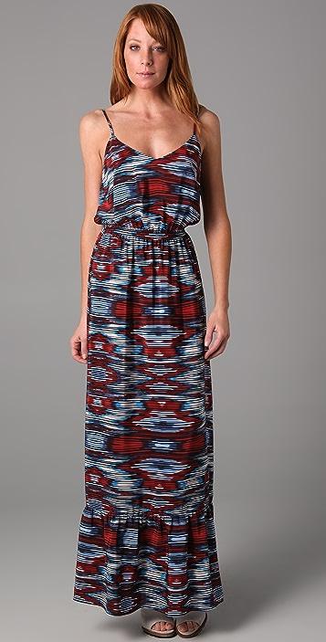 Twelfth St. by Cynthia Vincent Long Ruffle Slip Dress