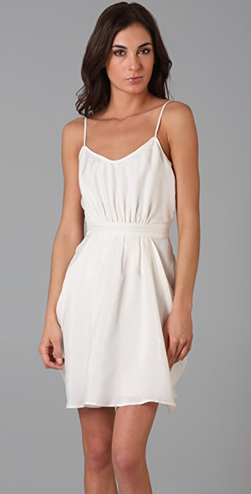 Twelfth St. by Cynthia Vincent Cami Dress with Draped Skirt