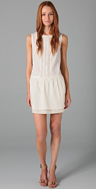 Twelfth St. by Cynthia Vincent Eyelet Tunic Dress