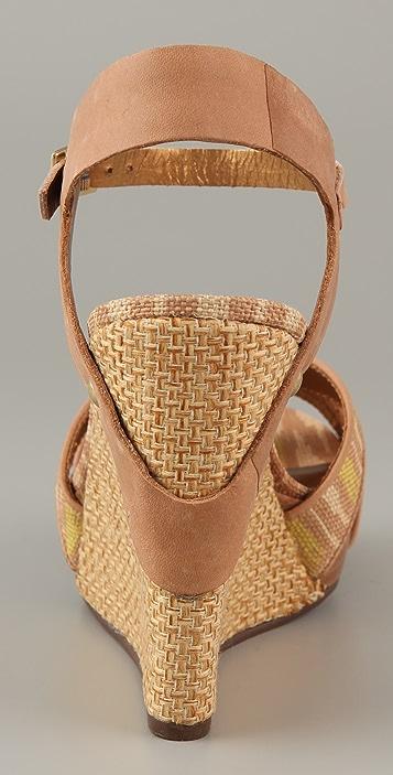 Twelfth St. by Cynthia Vincent Naomi Platform Wedge Sandals