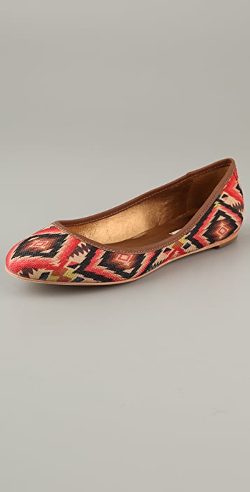 Twelfth St. by Cynthia Vincent Sage Ballet Flats