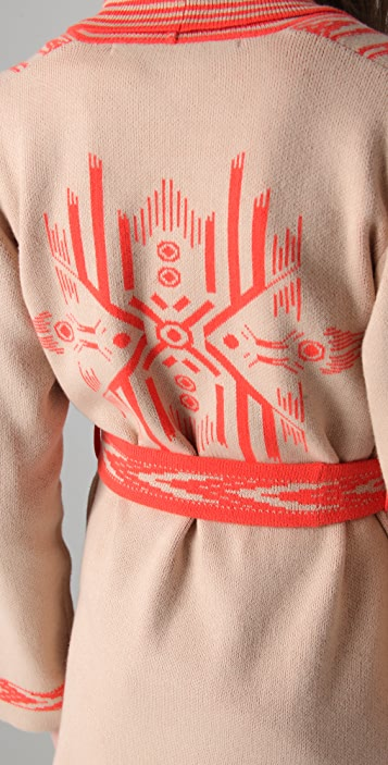 Twelfth St. by Cynthia Vincent Tongal Intarsia Cardigan