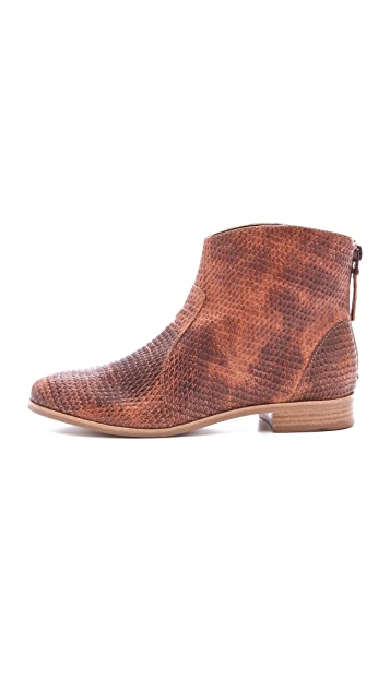 Twelfth St. by Cynthia Vincent Goldie Leather Riding Booties