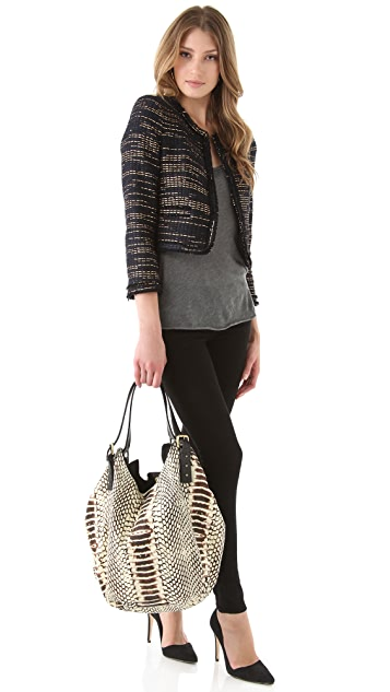 Twelfth St. by Cynthia Vincent Berkeley Large Canvas Tote