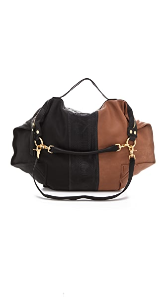 Twelfth St. by Cynthia Vincent Dunnaway Colorblock Satchel