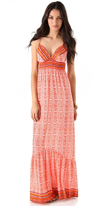 Twelfth St. by Cynthia Vincent Empire Maxi Dress