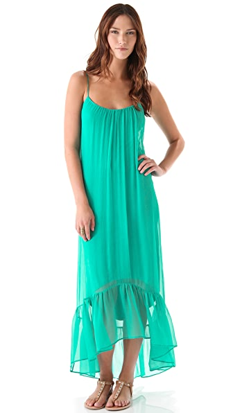 Twelfth St. by Cynthia Vincent High Low Cascade Maxi Dress