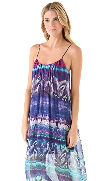 Twelfth St. by Cynthia Vincent High Low Cascade Dress