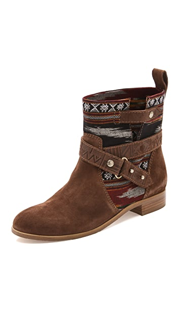 Twelfth St. by Cynthia Vincent West Ikat Engineer Booties