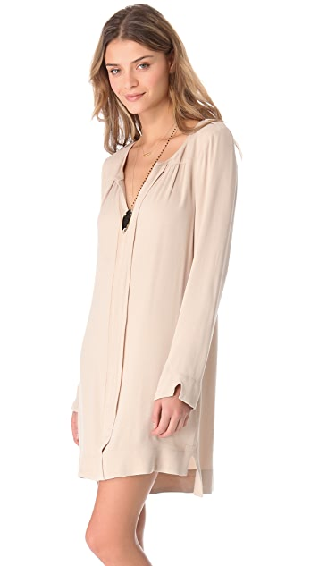 Twelfth St. by Cynthia Vincent Epaulet Shirtdress