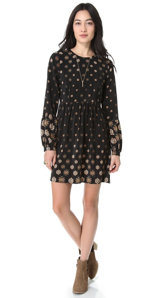 Twelfth St. by Cynthia Vincent Bell Sleeve Dress