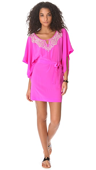 Twelfth St. by Cynthia Vincent Embroidered Caftan