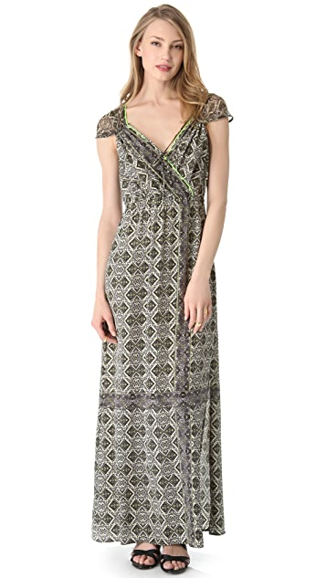 Twelfth St. by Cynthia Vincent Gathered Maxi Dress