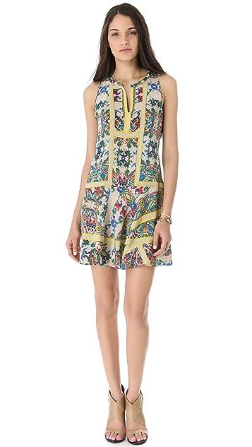 Twelfth St. by Cynthia Vincent Handkerchief Mini Dress