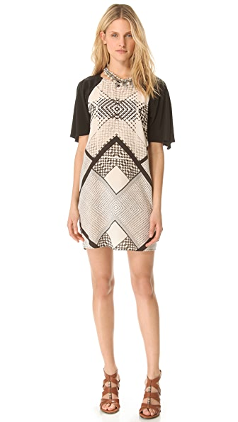 Twelfth St. by Cynthia Vincent Raglan Shift Dress
