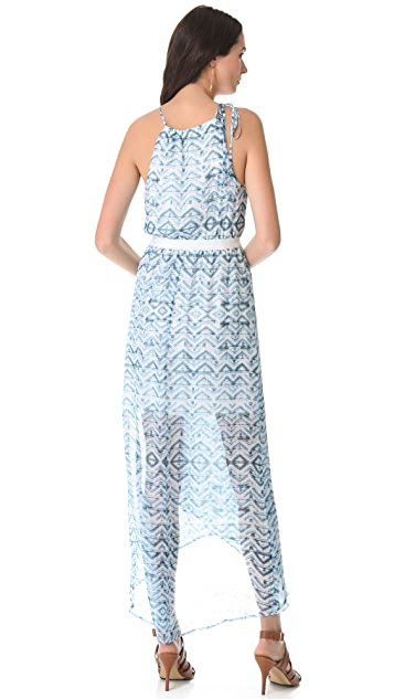 Twelfth St. by Cynthia Vincent Cross Front Maxi Dress