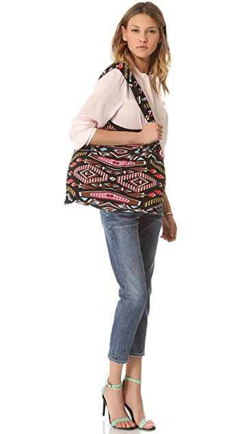 Twelfth St. by Cynthia Vincent Printed Patchwork Shopper