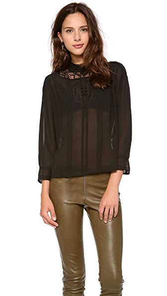 Twelfth St. by Cynthia Vincent Embroidered Blouse